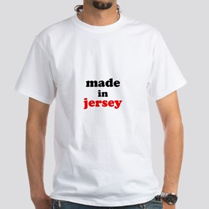 Made in Jersey White T-Shirt
