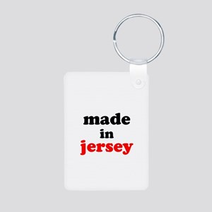 Made in Jersey Aluminum Photo Keychain