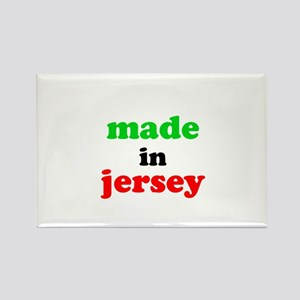 Made in Jersey Rectangle Magnet