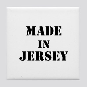 Made in Jersey Tile Coaster