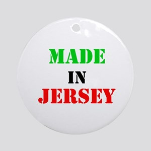 Made in Jersey Ornament (Round)