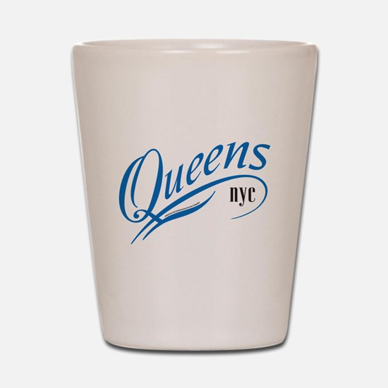 Queens, NY Shot Glass