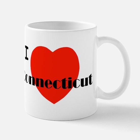 I Love Connecticut! Mug