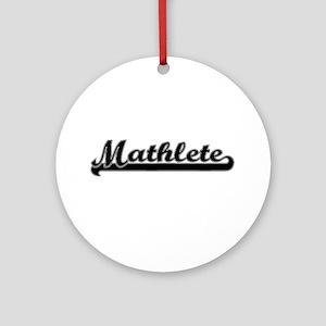 Mathlete Ornament (Round)