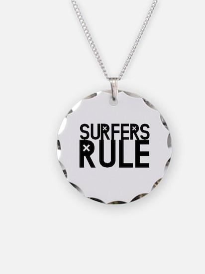 Surfers Rule Necklace