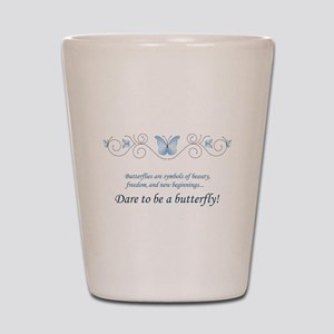 Butterfly Challenge Shot Glass