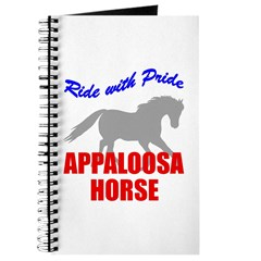 Ride With Pride Appaloosa Horse Journal