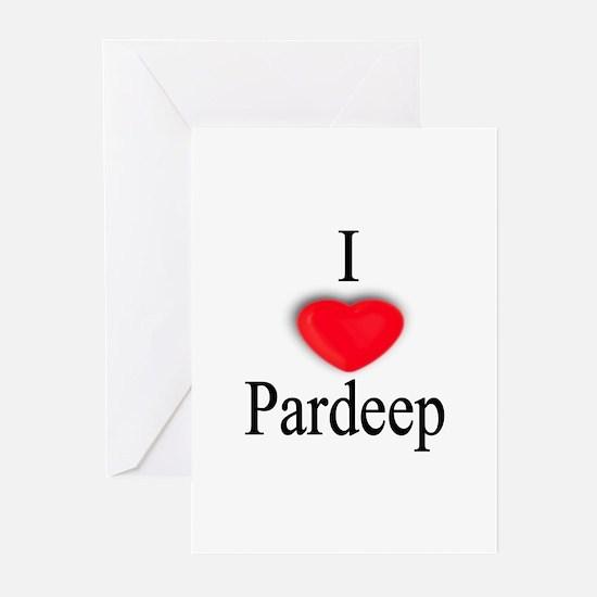 Pardeep Greeting Cards (Pk of 10)
