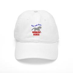Ride With Pride Arabian Horse Baseball Cap