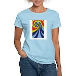 Surf Wave - Women's Light T-Shirt