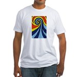 Surf Wave - Fitted T-Shirt