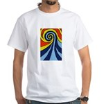 Surf Wave - White T-Shirt