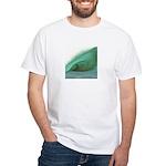 Wave Art - White T-Shirt