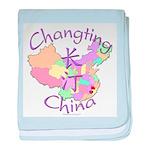 Changting China baby blanket
