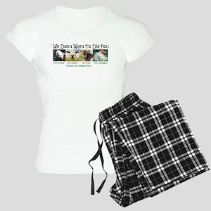 Animal Voices Women's Light Pajamas