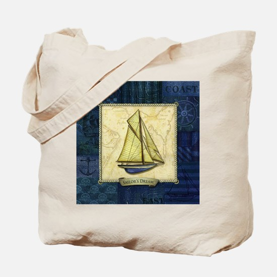 Cute Ship models Tote Bag