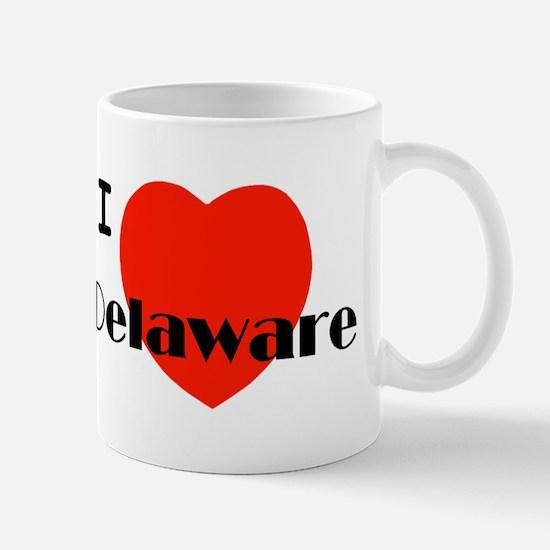 I love Delaware! Mug