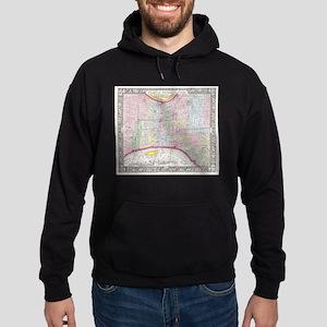 Vintage Map of Philadelphia Pennsylvani Sweatshirt