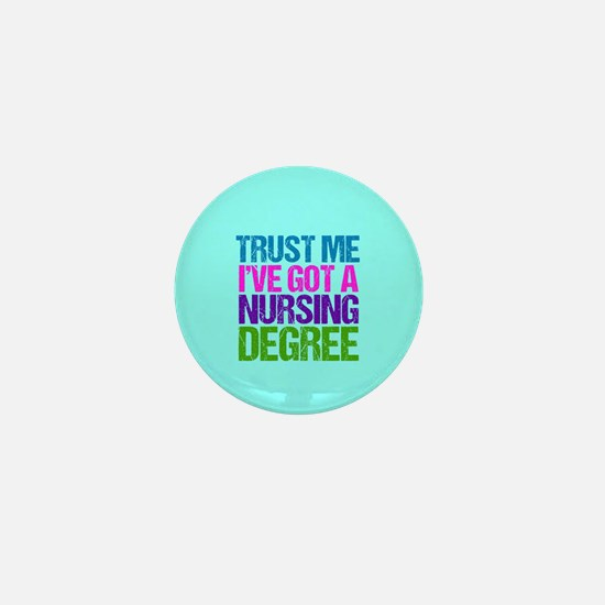 Trust Me Nurse Mini Button