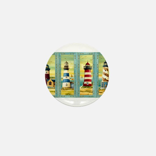 Funny Beach house Mini Button