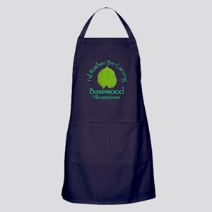 Rather Be Carving . . . Bassw Apron (dark)