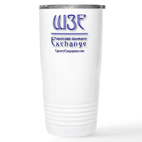 WOM Logoware Stainless Steel Travel Mug