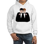 Gay Wedding Hooded Sweatshirt