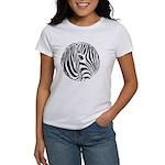 Zebra Art Women's T-Shirt