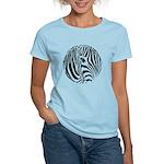 Zebra Art Women's Light T-Shirt