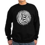 Zebra Art Sweatshirt (dark)