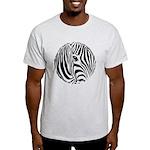 Zebra Art Light T-Shirt