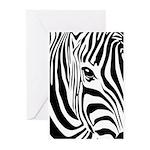 Zebra Art Greeting Cards (Pk of 20)