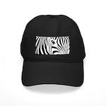 Zebra Art Black Cap