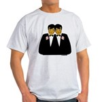 Two Grooms Ethnic Light T-Shirt