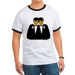 Two Grooms Ethnic Ringer T