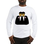 Two Grooms Ethnic Long Sleeve T-Shirt