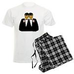 Two Grooms Ethnic Men's Light Pajamas