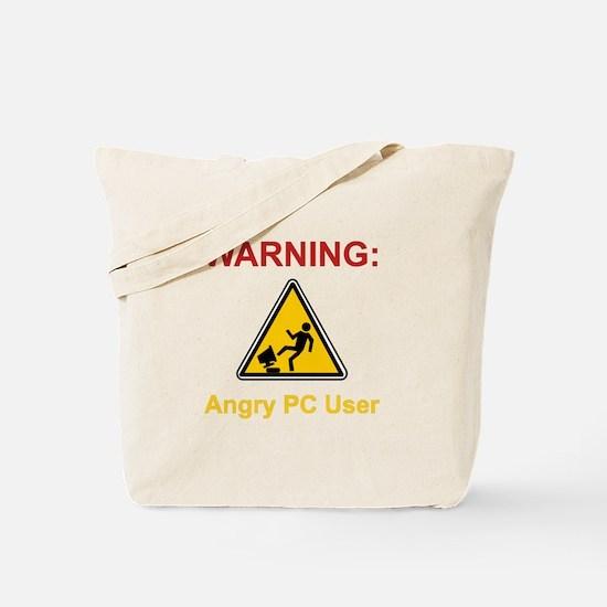 Angry PC User Tote Bag
