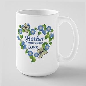 Mother's Love Heart Large Mug