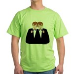 Gay Wedding Green T-Shirt
