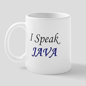 """I Speak Java"" Mug"