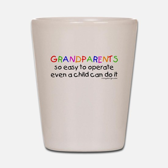 Grandparents Shot Glass