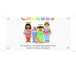 CHERUBS Logo - Pastel Banner