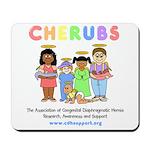 CHERUBS Logo - Pastel Mousepad