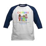 CHERUBS Logo - Pastel Kids Baseball Jersey