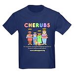 CHERUBS Logo - Pastel Kids Dark T-Shirt