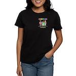 CHERUBS Logo - Pastel Women's Dark T-Shirt