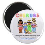 CHERUBS Logo - Pastel Magnet