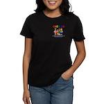 CHERUBS Logo - Bright Women's Dark T-Shirt