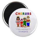 CHERUBS Logo - Bright Magnet